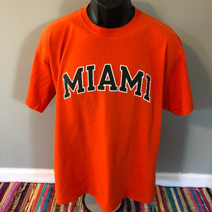 90s Miami Hurricanes Shirt Vintage Tee Champion